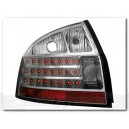 BAKLAMPOR LED AUDI A4 B6 8E SEDAN 01-04 KLAR